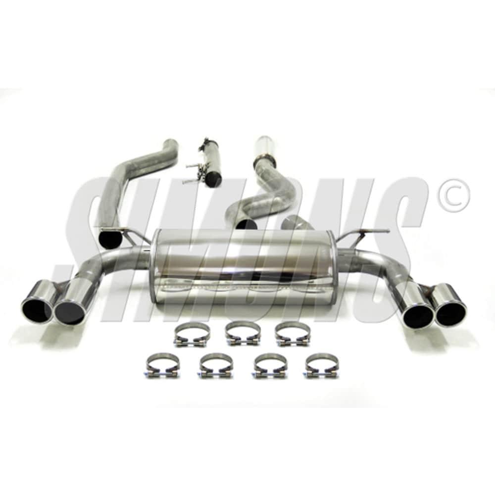 Avgassystem BMW F32/F33/F36