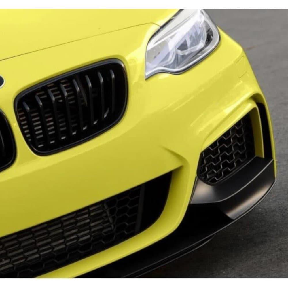 Svart Cupspoiler Fram BMW F22