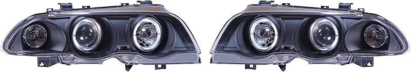 Angeleyes Lyskaster svart BMW E46