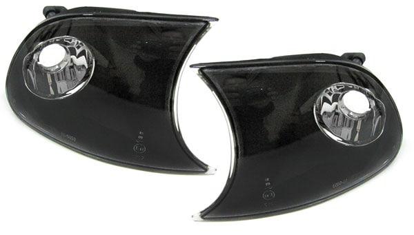 Blinklys projektor svart E46 2drs