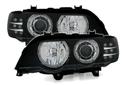 Angel Eyes svarte BMW X5