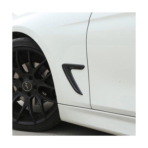 Blanksvarte dekorlister til BMW F30/F31