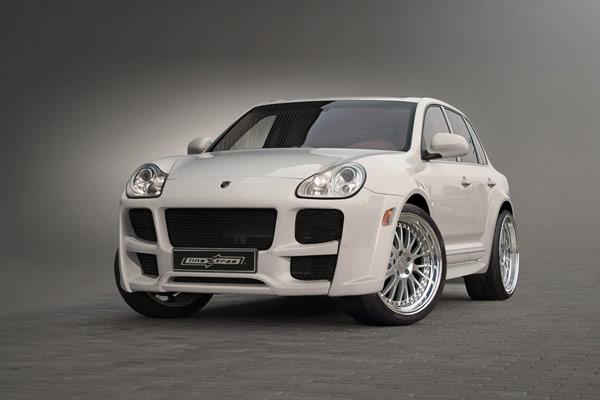 Skjørtpakke Widebody Porsche Cayenne