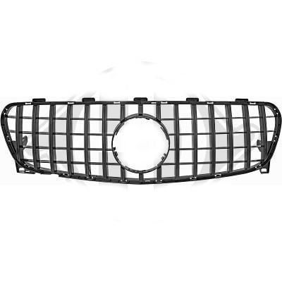 Glossy black radiator grille GT-Optics