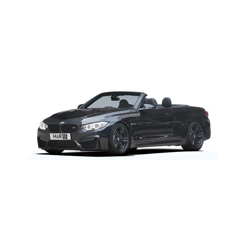 H&R HVF Justerbar senkningssats BMW M4 cabriolet F83