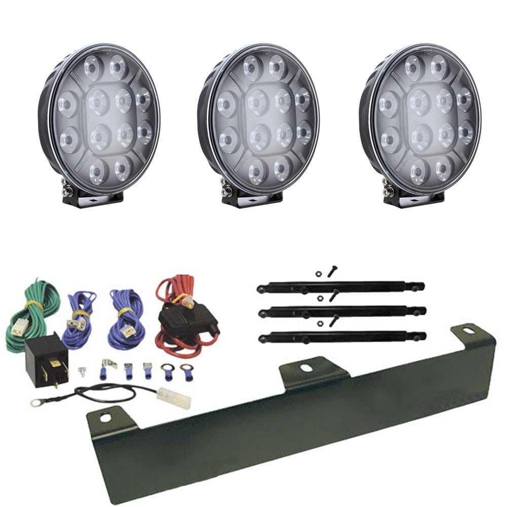 Paket Theta LED extraljus 9´