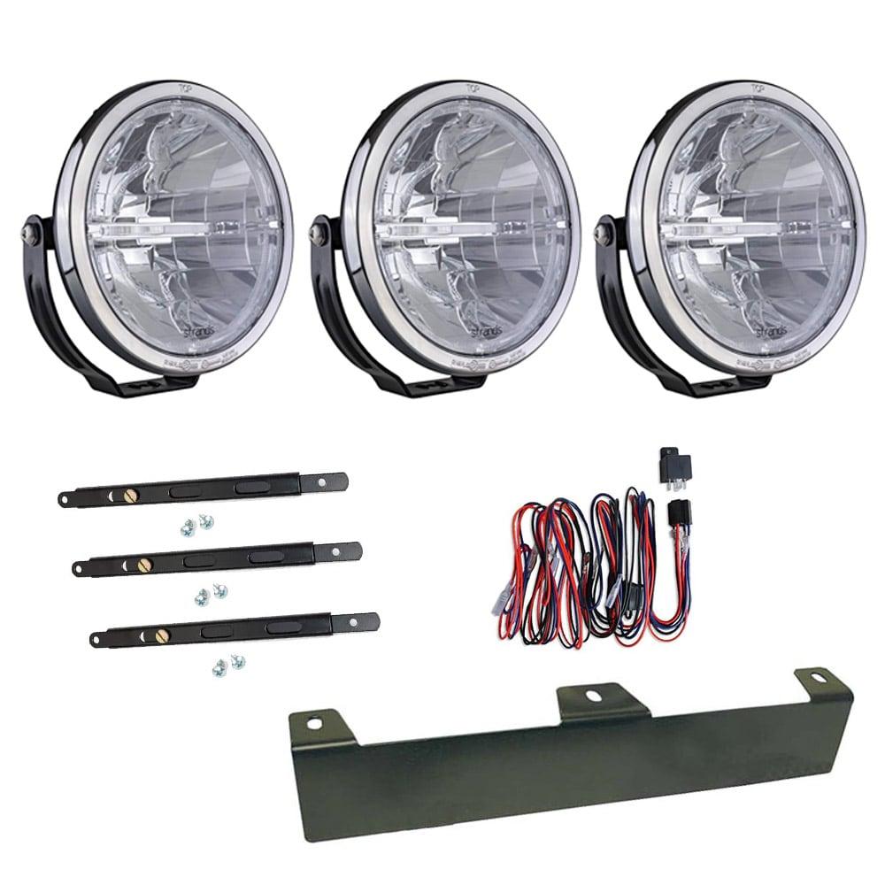 3-pakke Ekstralys Ambassador 9´ LED - SLD