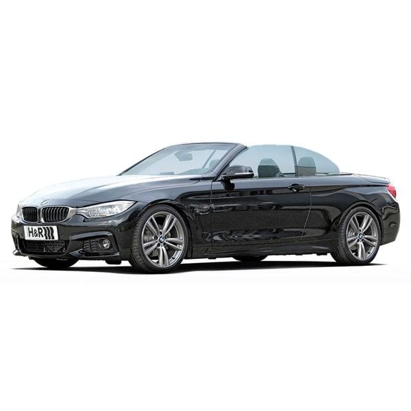 H&R Stillbart chassi BMW 4 serie cab 4wd