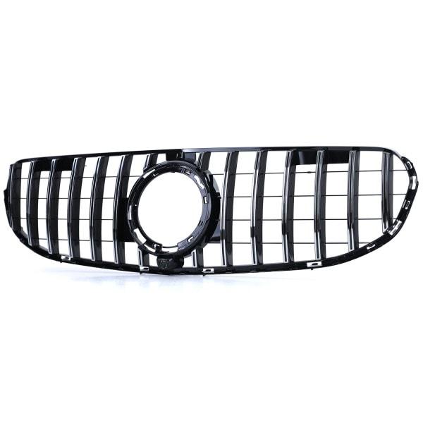 Black/Chrome grille with sport-optics