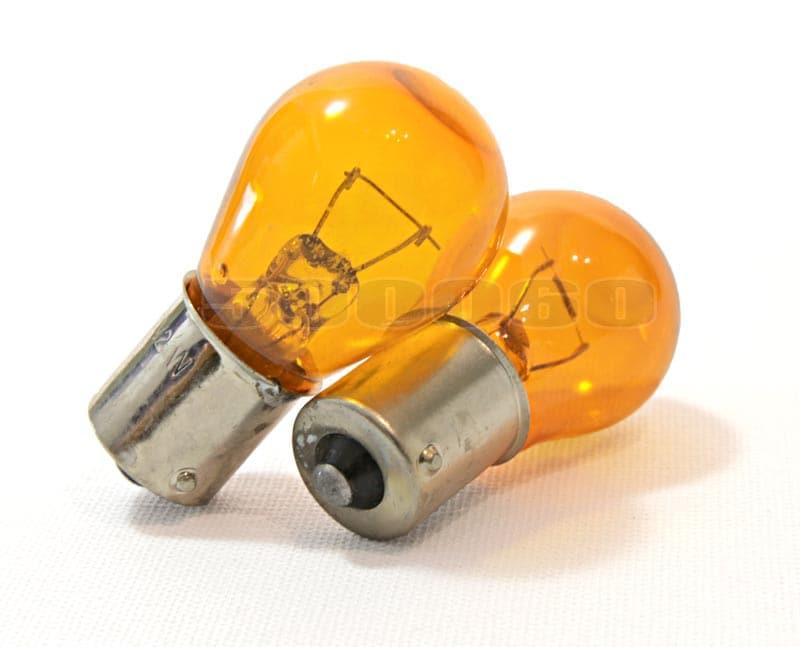 Orangea glødelamper