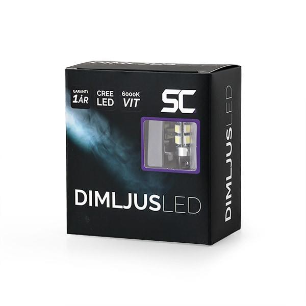 H1 LED Diod lamper 6000K