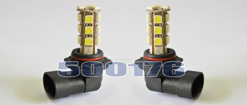 HB4 LED Diod lamper 6000K