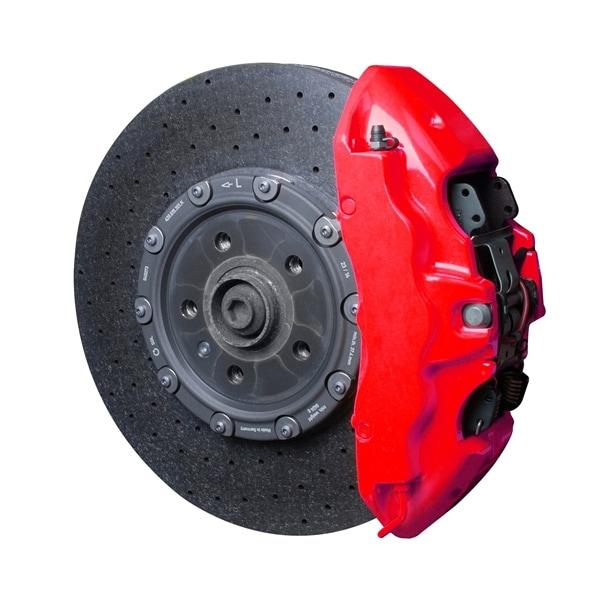 Bremsecaliperfarge NEON Rød 2-komponents