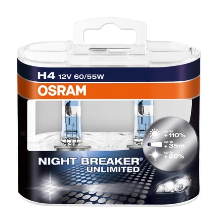 Osram H4 Nightbreaker Unlimited