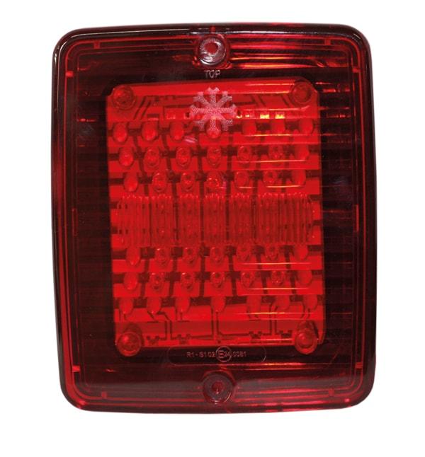 Baklys/Bremse LED med Rød linse