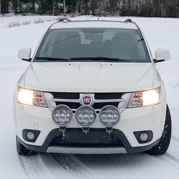 Vinter pakke 9´ W-light LED Ekstralys