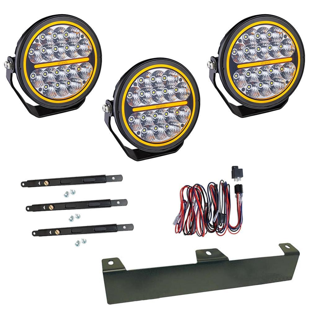 3-Pack Extraljus Siberia Night Ranger 7´ LED - SLD