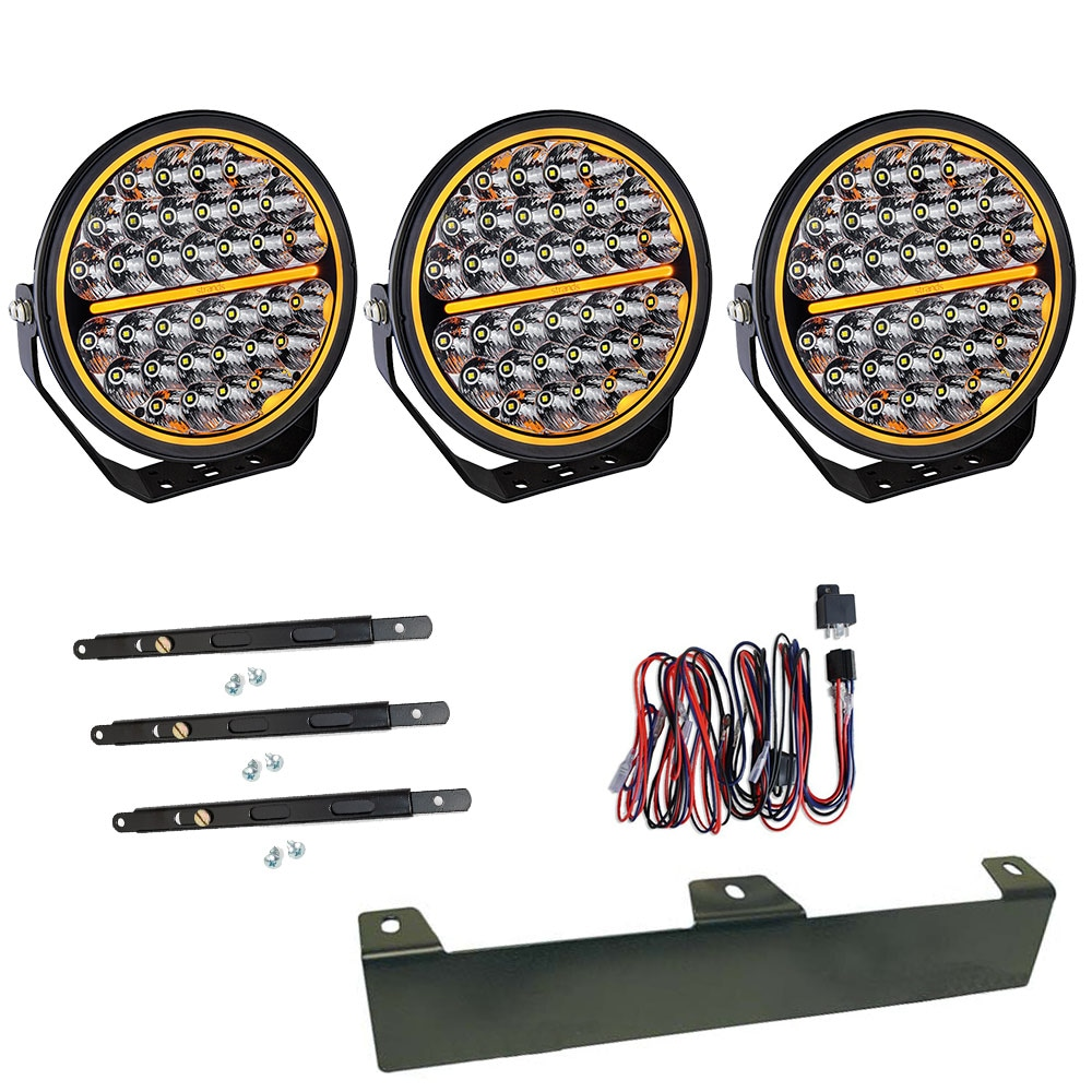 3-Pack Extraljus Siberia Night Ranger 9´ LED - SLD