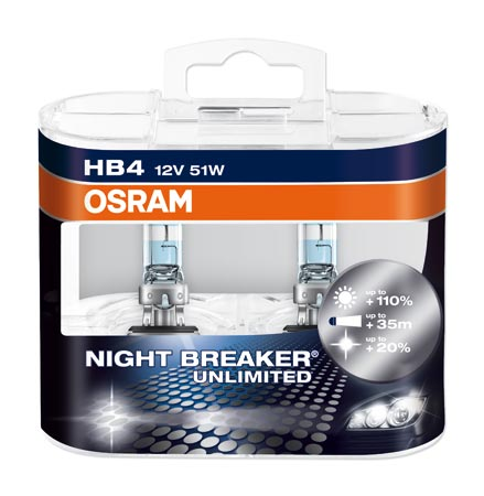 Osram HB4 / 9006 Nightbreaker Unlimited