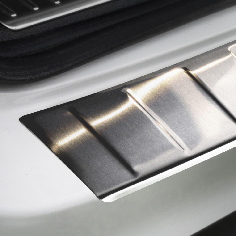 Lastebeskyttelse børstet stål Mercedes GLC
