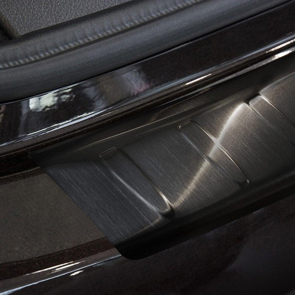 Lastskydd svart borstat stål till BMW F46 Gran Tourer