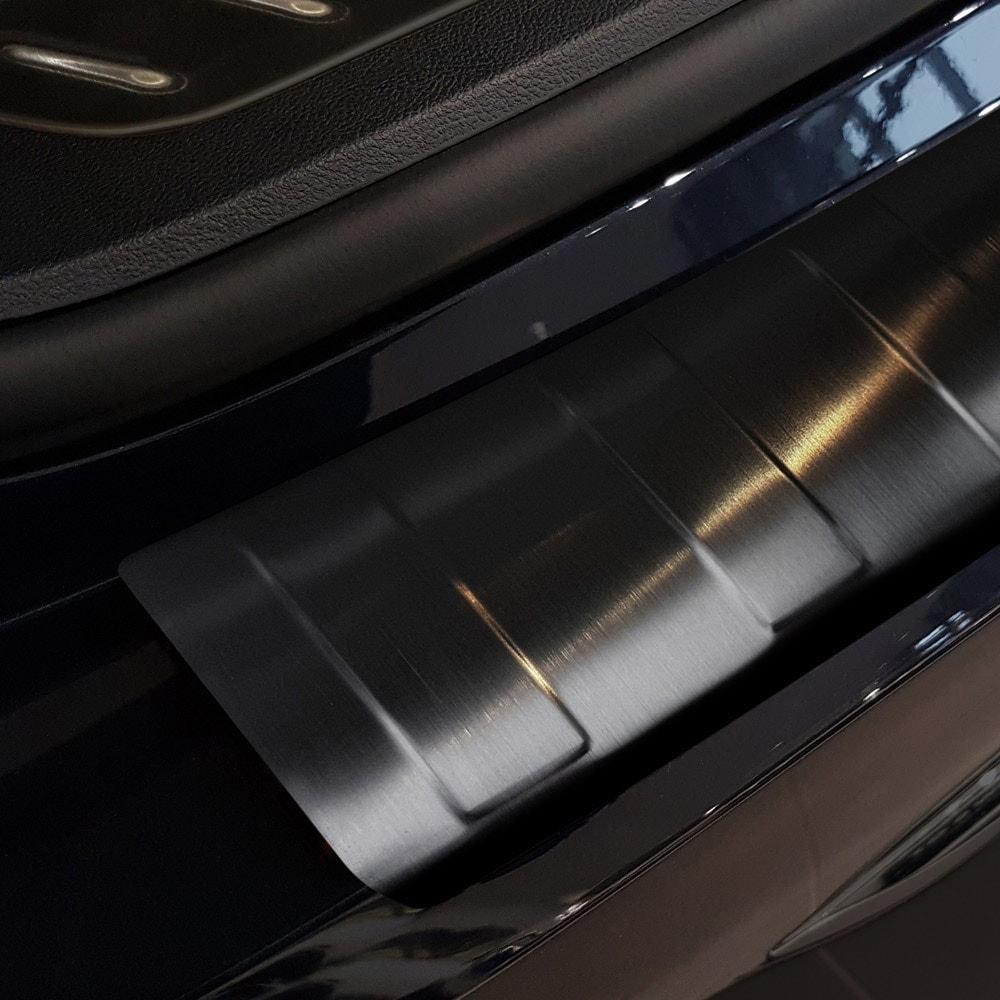 Lastskydd svart borstat stål till BMW G31 Touring