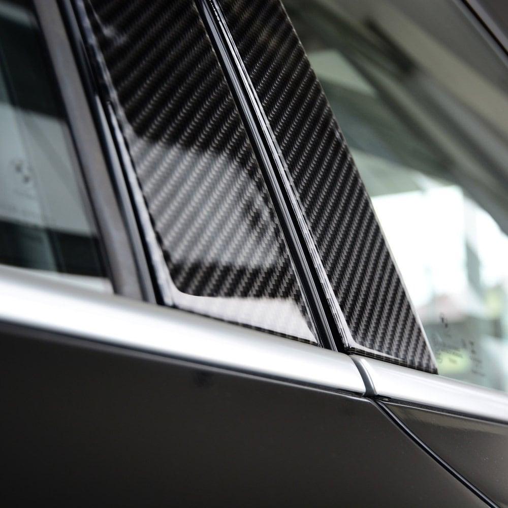 Kolfiberpanel till B-stolpen på BMW X1 F48