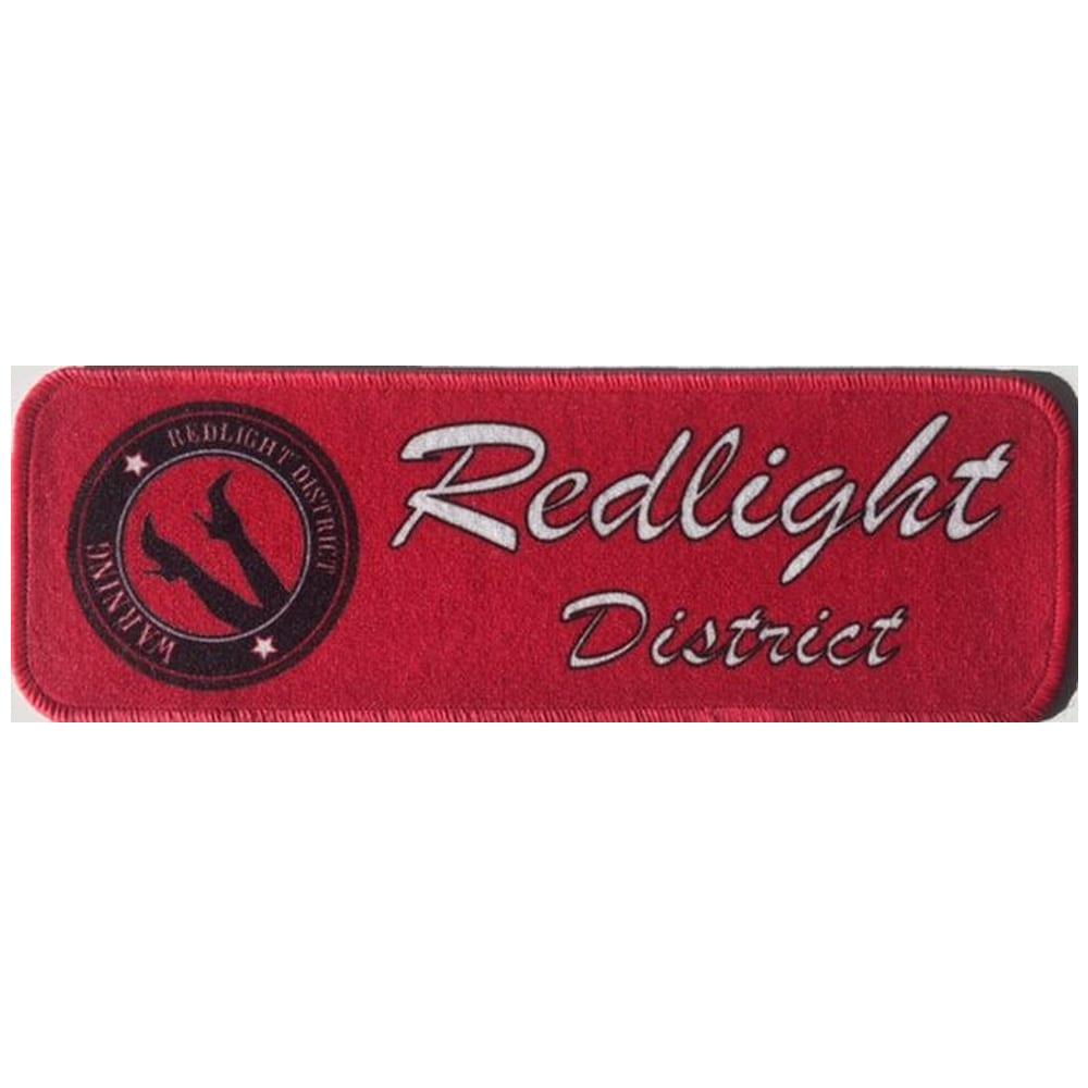Stoffmatte til dashbordet - Redlight District
