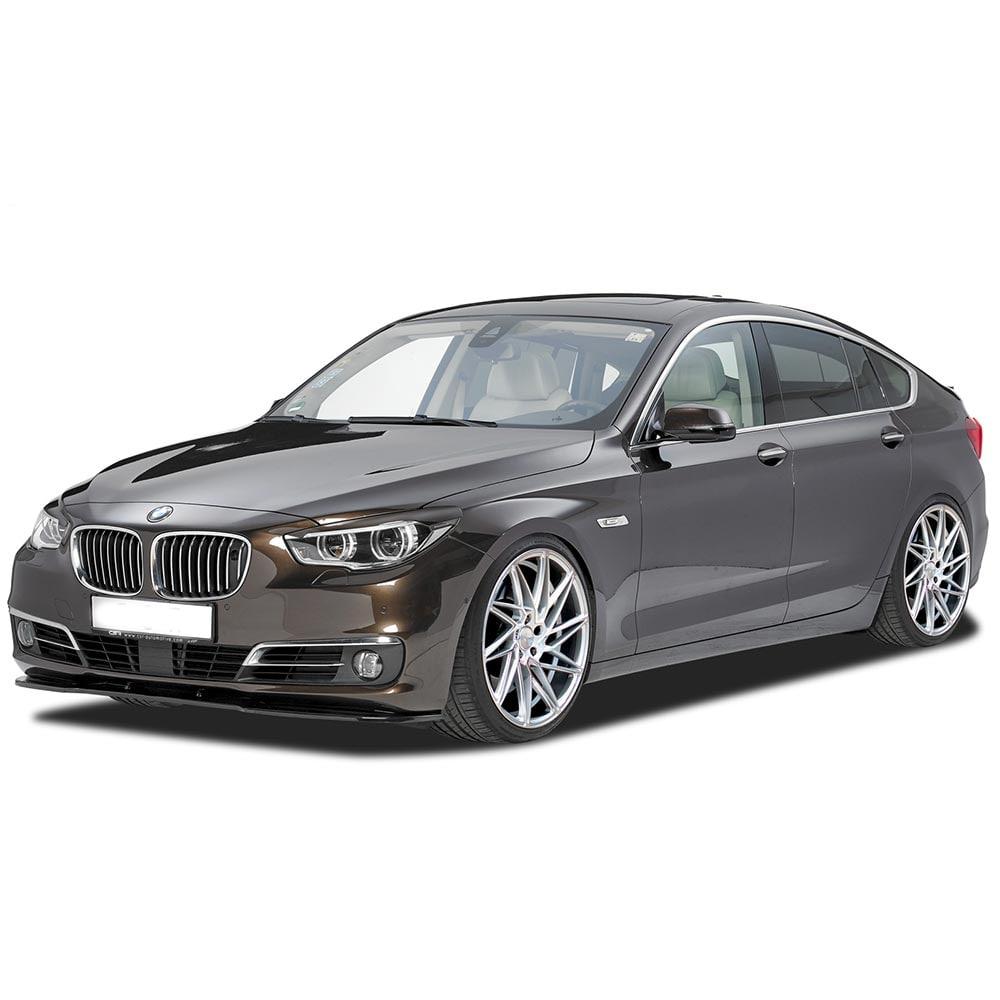 Blanksvart Cupspoiler Fram BMW 5-serie GT
