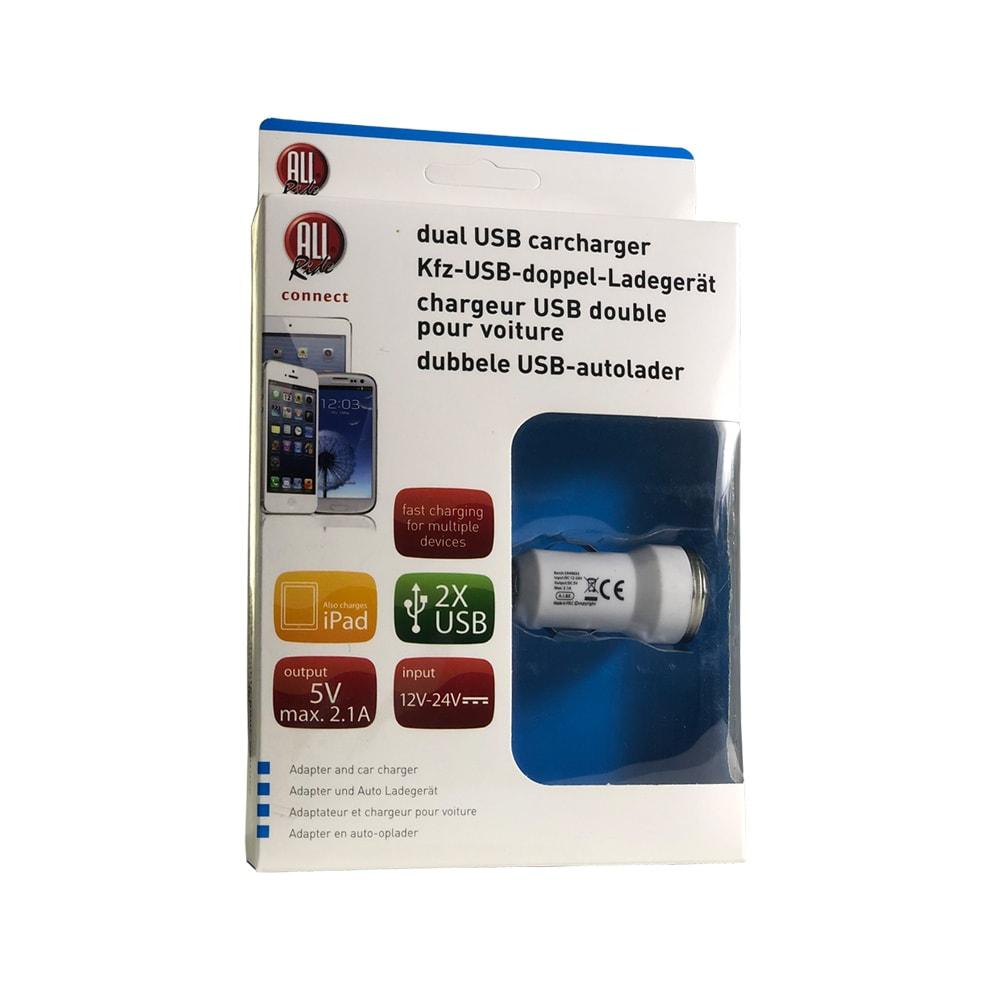 Ladestasjon USB 2.1A