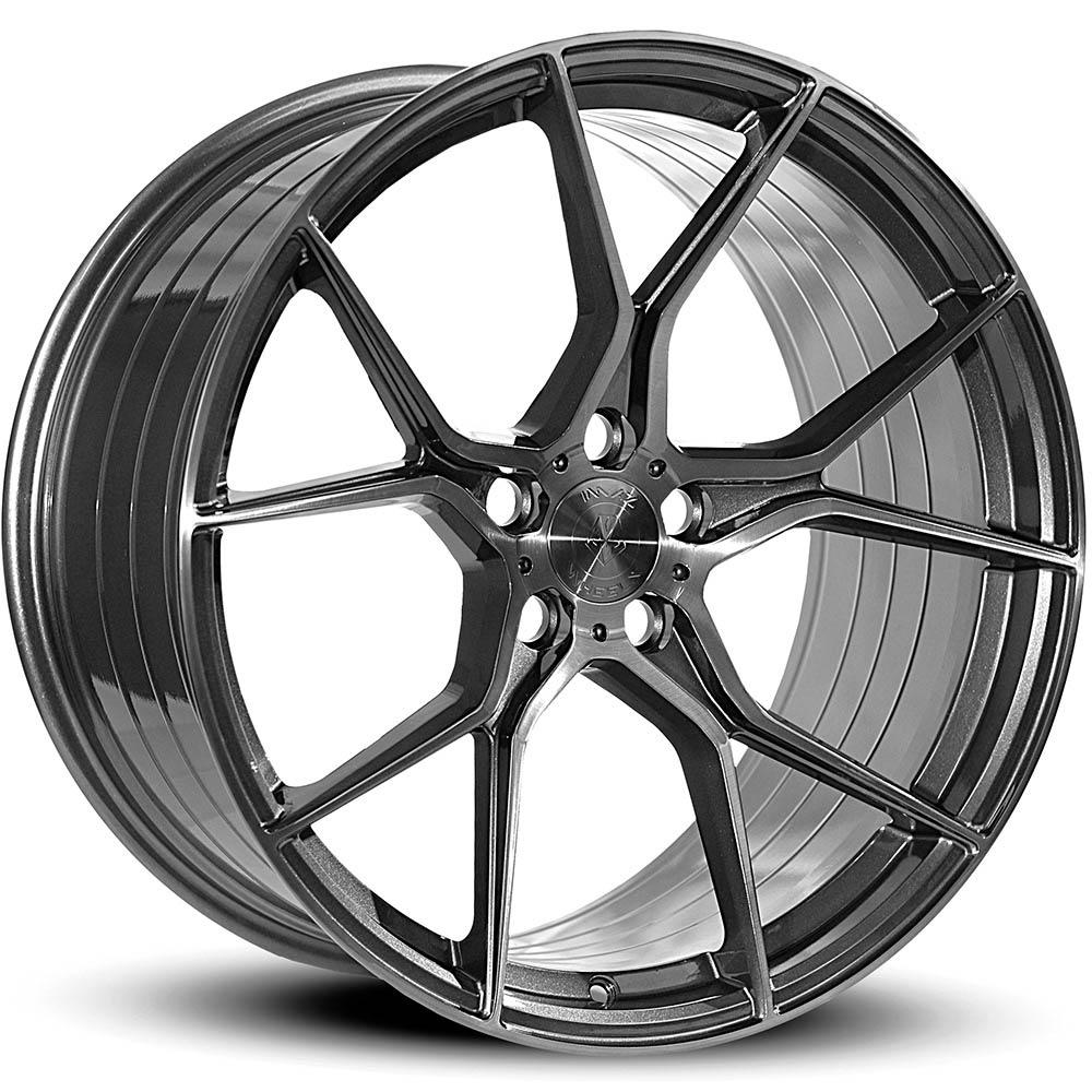 Imaz Wheels FF588 DGM Brushed Face