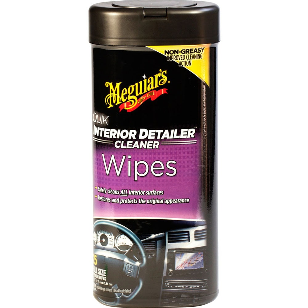 Meguiars Quik Interior Detailer Wipes