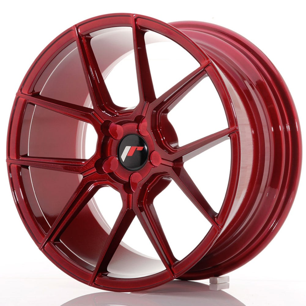 JR30 Platinum Red Felgepakke