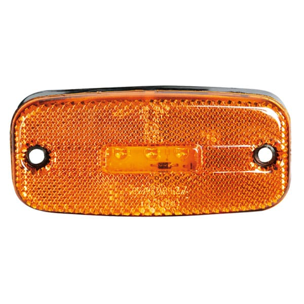 LED KZ Sidemarkering Orange 24V