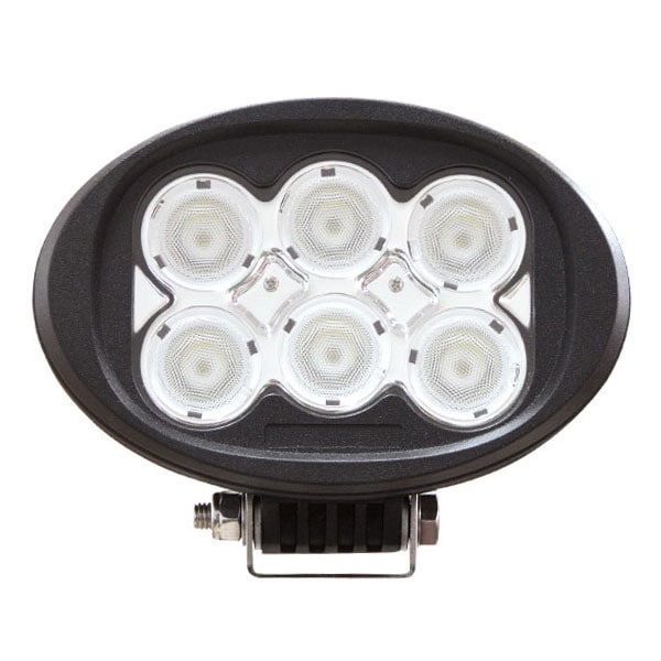 LED arbeidslampe Oval 60W DT kontakt