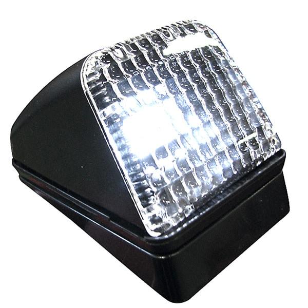 Taklampe integrert LED Hvitt klartglass