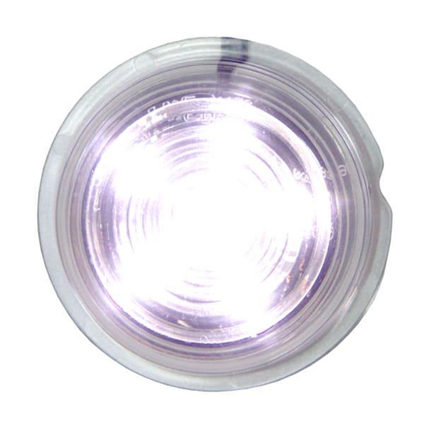 Viking LED posisjonslys Hvitt 12-24V