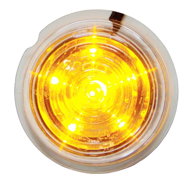Viking LED Sidemarkeringslys orange 12-24V