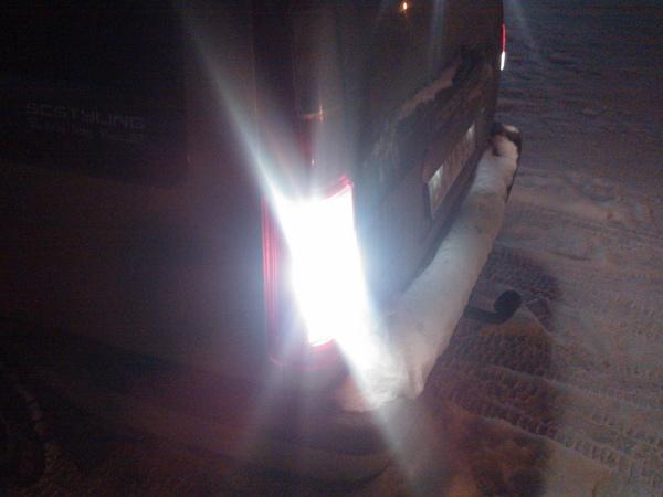 LED Diod Lampe BA15S