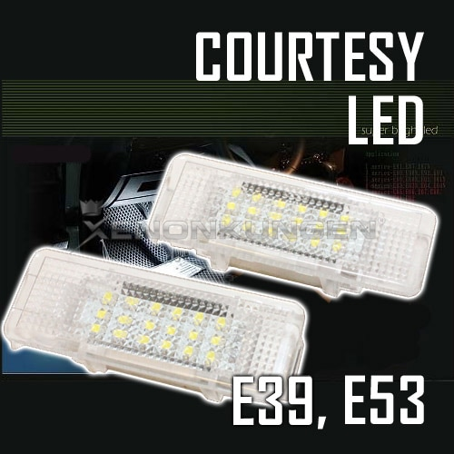 BMW LED Courtesy E39 / X5