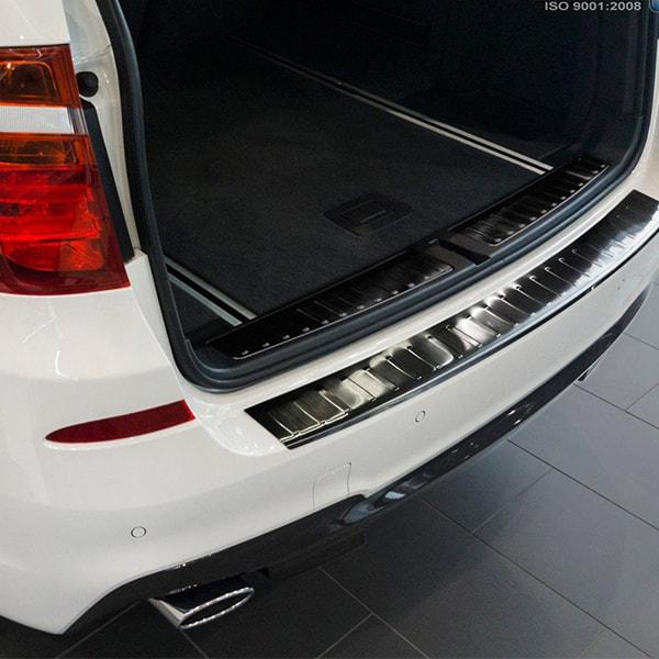 Lastskydd Svart borstat stål BMW X3 F25