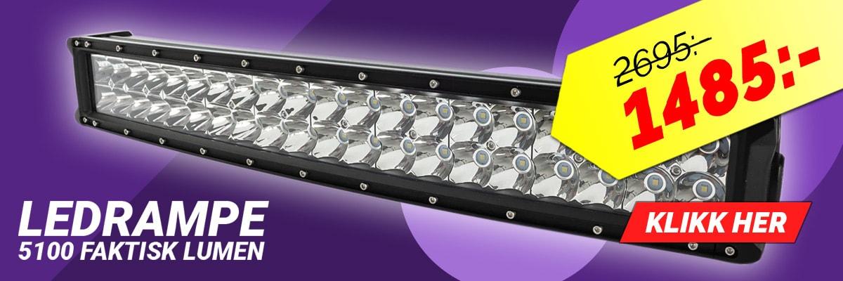 Kanonpris på LED ramp