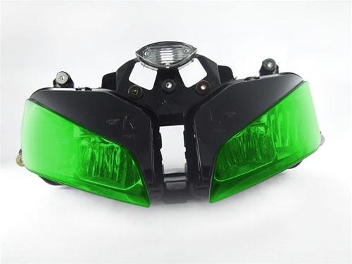 Toningsfilm bakljus grön