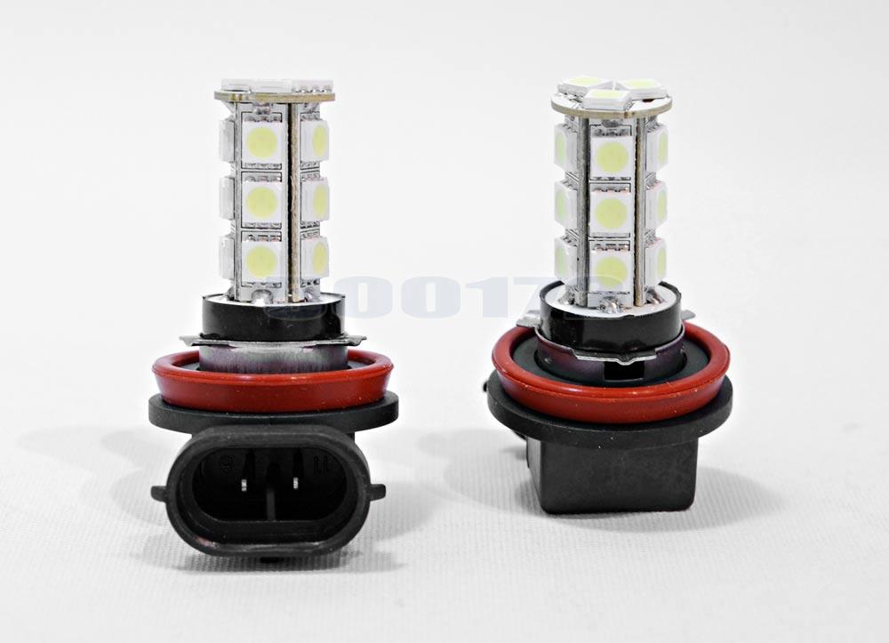H11 LED Diod lamper 6000K