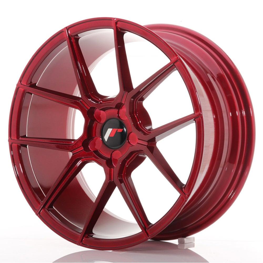JR30 Platinum Red Felgepakke