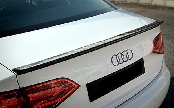 karbonfibervinge Audi A4 B8 Sedan