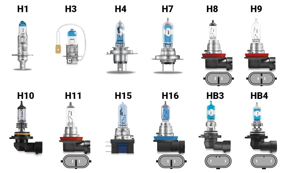 Helljus LED - Halvljus LED