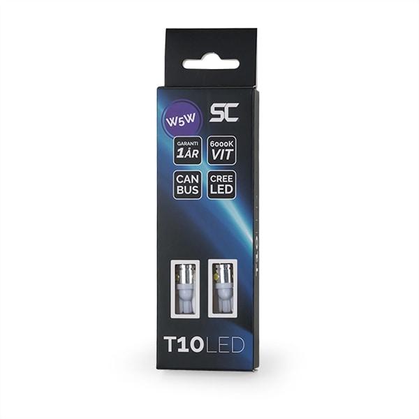 T10 SMD Hvit