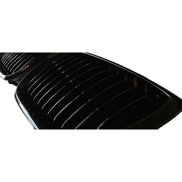 E46 4drs skinnende sorte nyrer
