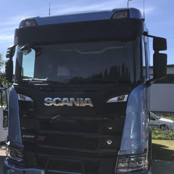 Solskydd visir passande Scania S/R